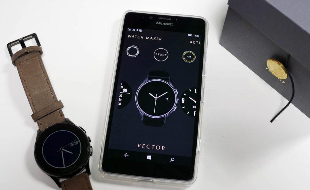 ساعت هوشمند وکتور