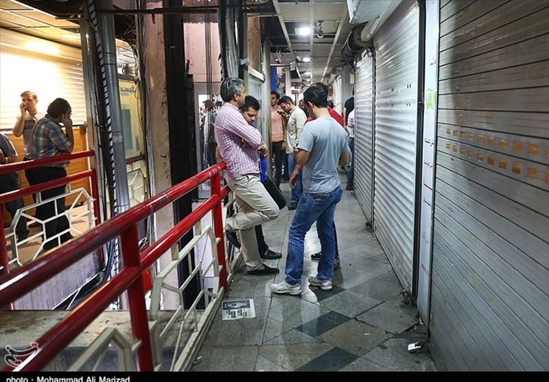 جمع آوری گوشیهای قاچاق از پاساژ علاءالدین تهران