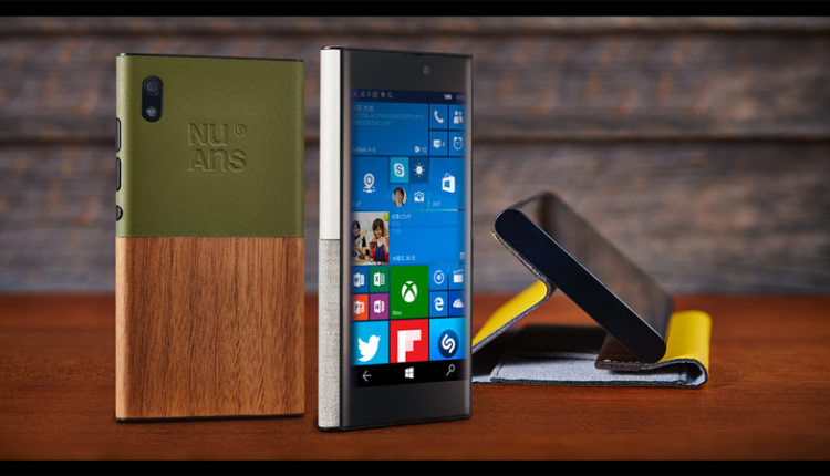 NuAns Neo خوش استایلترین گوشی ویندوزموبایلی