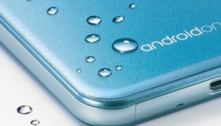 شارپ گوشی ضد آب با سیستم عامل اندروید وان معرفی کرد