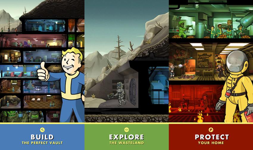 بازی محبوب Fallout Shelter