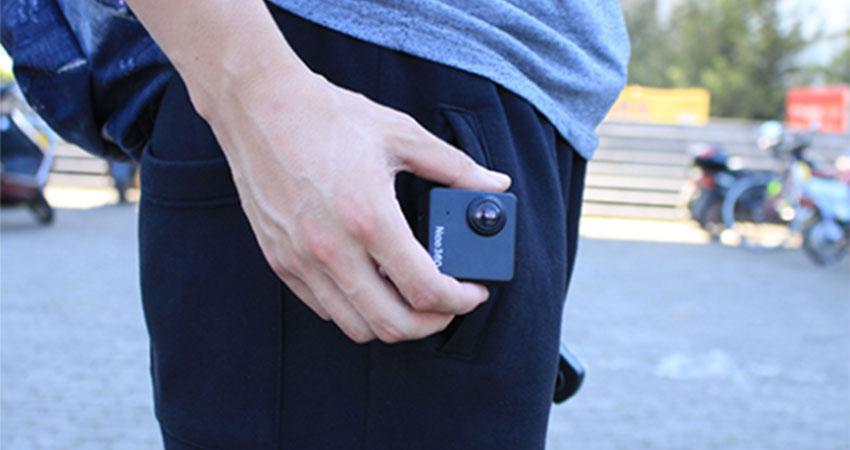 نیکو 360 به راحتی در جیب جا میشود نیکو 360 نیکو 360 میخواهد لقب کوچکترین دوربین 360 درجه را به خود اختصاص دهد Nico360 could fit into pocket