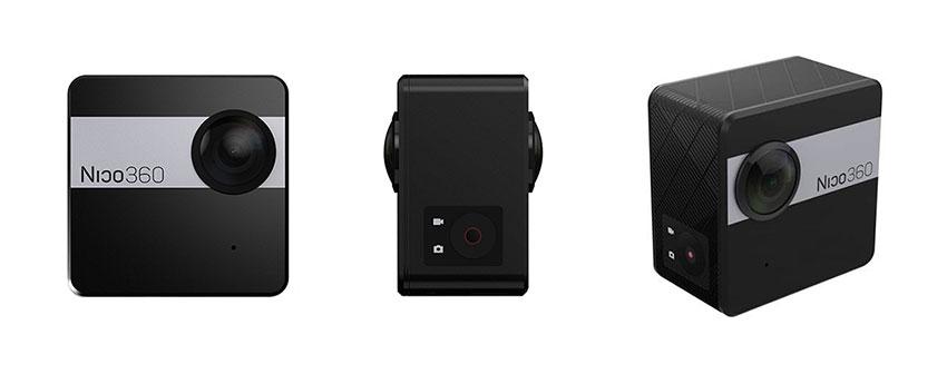 نیکو 360 از زوایای مختلف نیکو 360 نیکو 360 میخواهد لقب کوچکترین دوربین 360 درجه را به خود اختصاص دهد Nico360 front and side