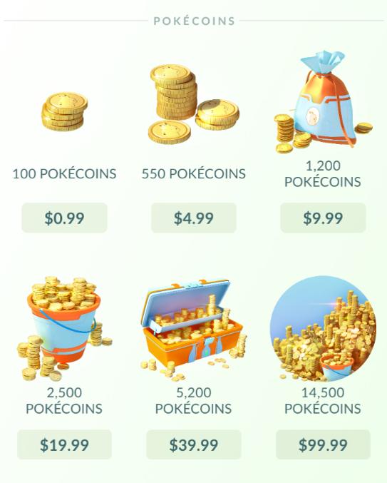 پول در بازی پوکمون