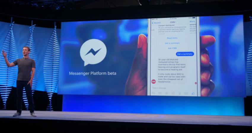 فیسبوک مسنجر هم اکنون بیش از یک میلیارد کاربر دارد
