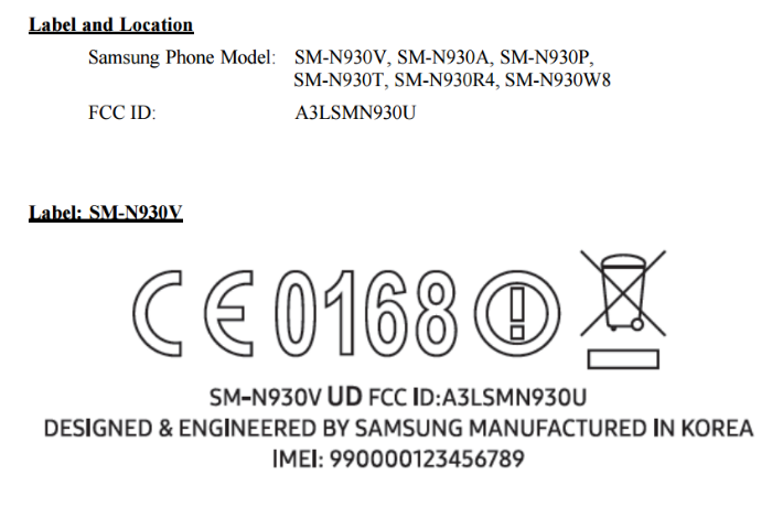 گلکسی نوت 7 مجوز FCC را دریافت کرد
