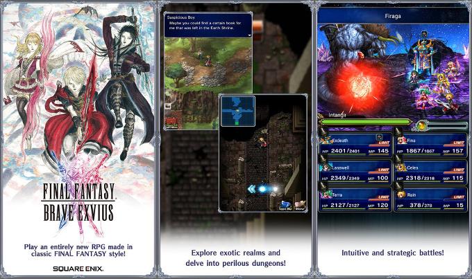 بازی Final Fantasy Brave Exvius