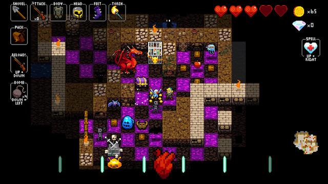 بازی Crypt of the NecroDancer