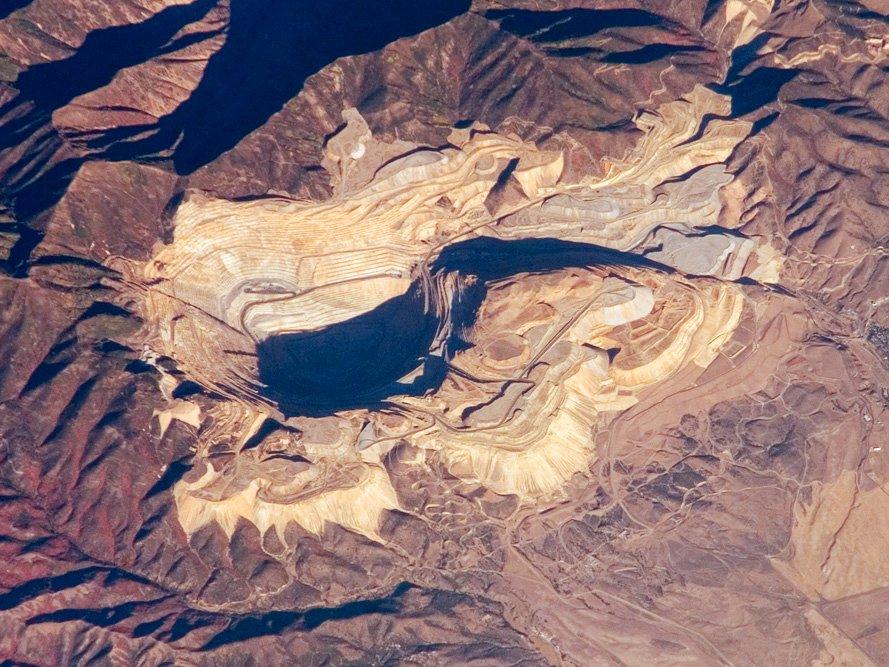 معدن کنه کوت از فضا