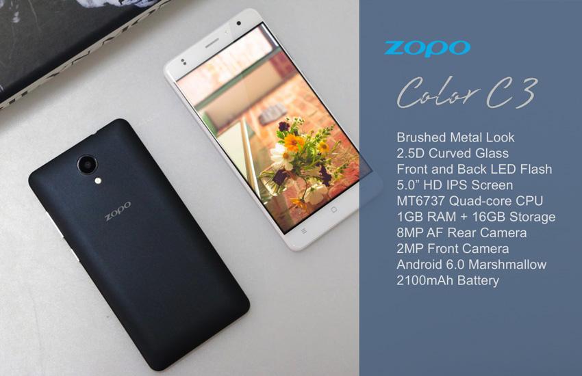 سه تلفن هوشمند جدید زوپو