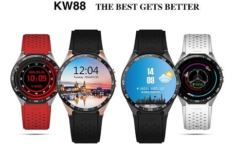 ساعت هوشمند KingWear KW88