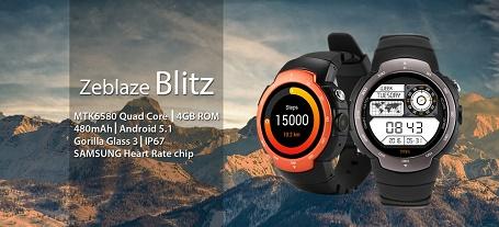 ساعت هوشمند Zeblaze Blitz