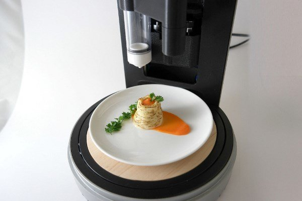 چاپگر سه بعدی آَشپزی