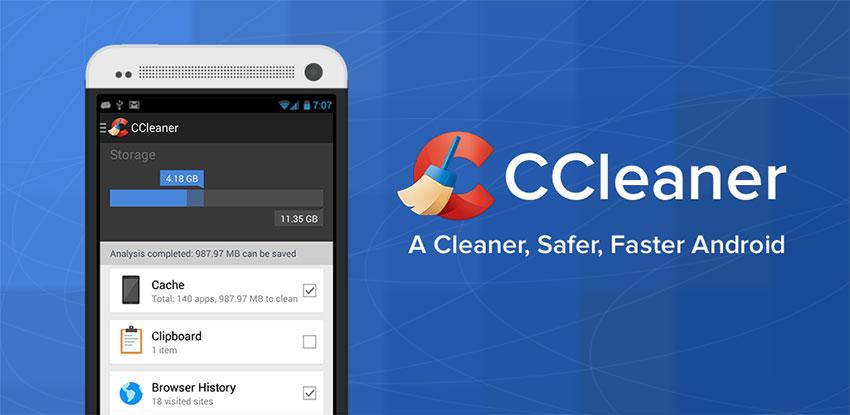 اپلیکیشن CCleaner اندروید