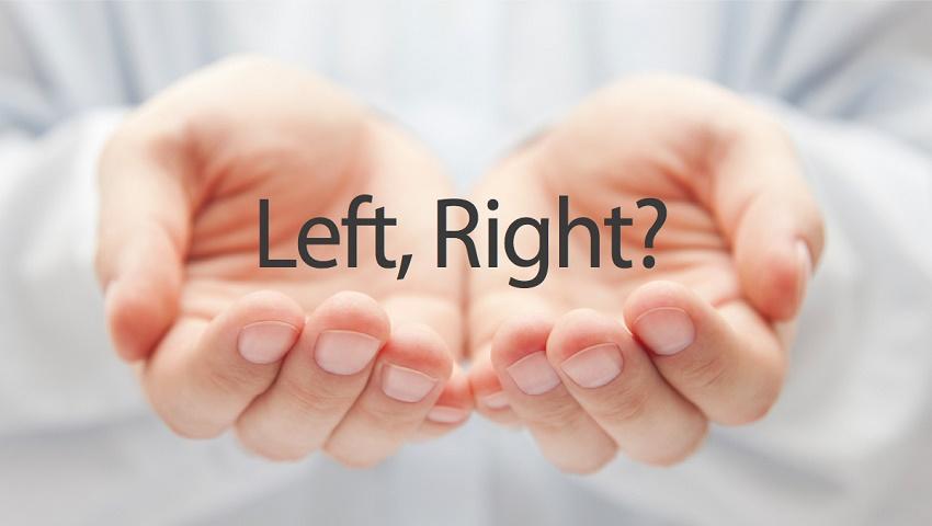 راست دستی یا چپ دستی