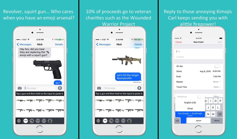 Gun-Emojis