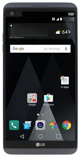 تصویر جدیدی از گوشی ال جی V20