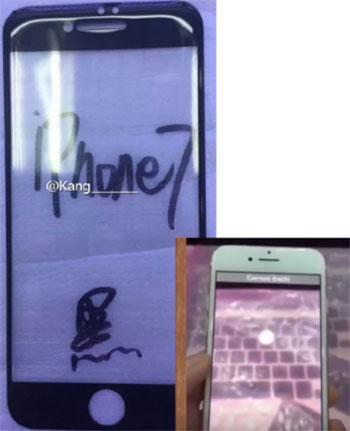 تصویر جدید از جلوی بدنه آیفون 7