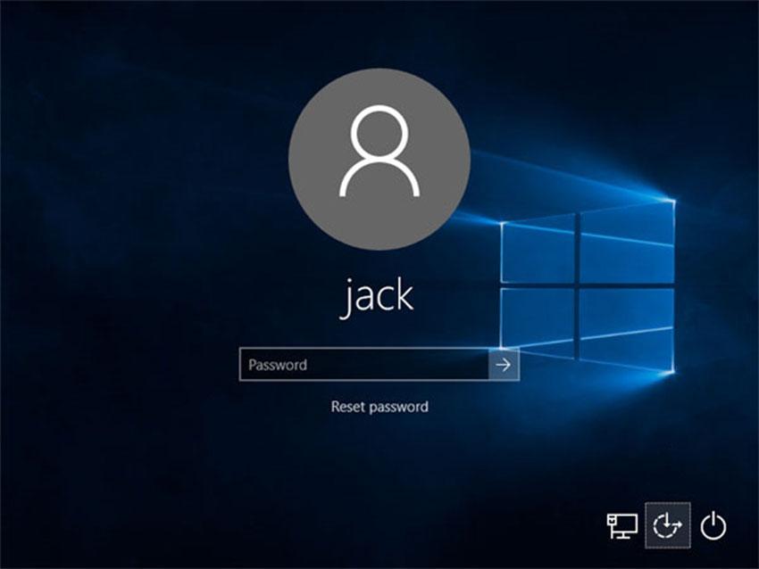 صفحه ورود به ویندوز 10