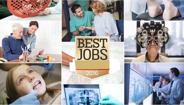 با بهترین شغل های سال 2016 آشنا شوید