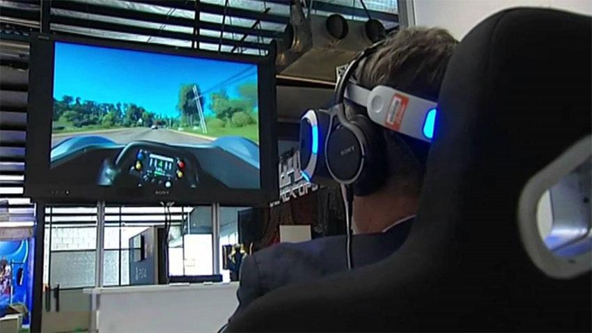 بازی Driveclub برای پلی استیشن وی آر