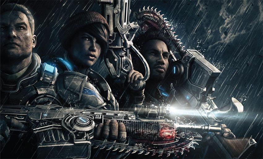 بازی گیرز آو وار 4  با خرید این دو کارت گرافیک انویدیا، یک نسخه رایگان از Gears of War 4 را هدیه بگیرید Gears of War 4 Gamers