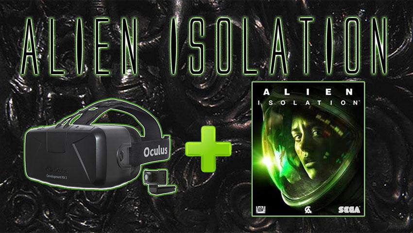 دموی Alien: Isolation بر روی اوکولوس ریفت