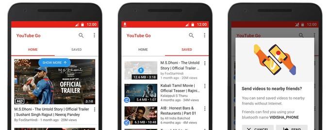 تماشای آفلاین ویدیوهای یوتوب با اپلیکیشن YouTube Go