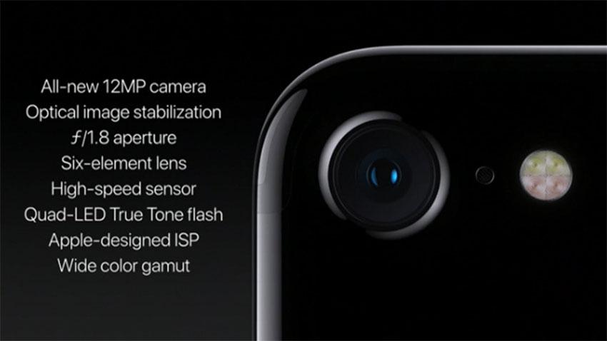 ویژگیهای دوربین آیفون 7