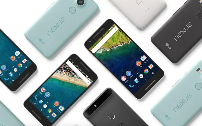 گوشیهای نکسوس گوگل