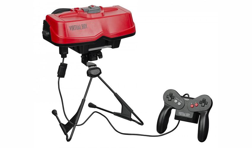 هدست Virtual Boy نینتندو
