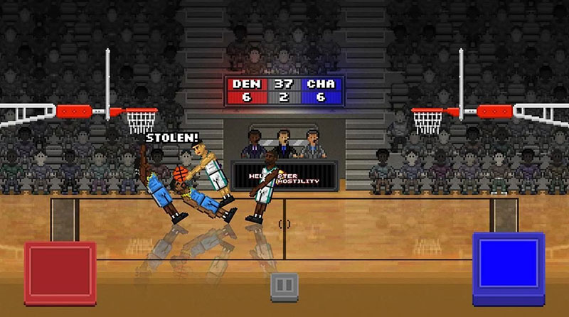 بازی Bouncy Basketball