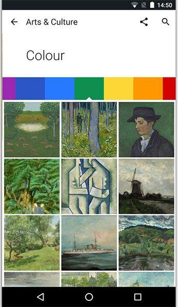 اپلیکیشن Google Arts & Culture (تصویر 3)