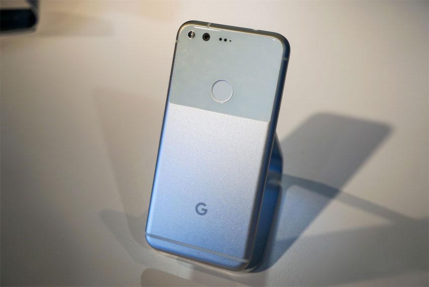 پشت بدنه گوگل پیکسل