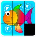 بازی Kids slide puzzle