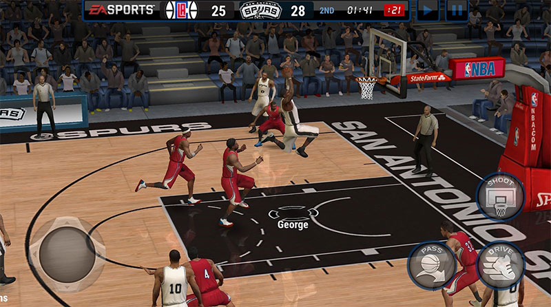 بازی NBA LIVE Mobile Basketball