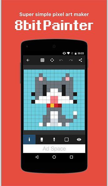 اپلیکیشن Pixel Art Maker (تصویر 2)