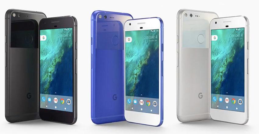 رنگهای گوگل پیکسل
