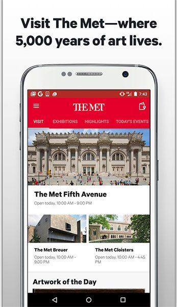 اپلیکیشن موزه هنری متروپولیتن (تصویر 1)