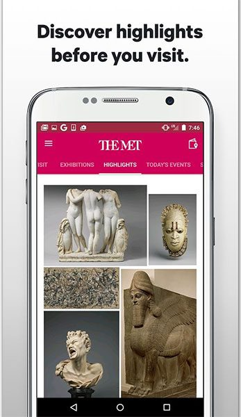 اپلیکیشن موزه هنری متروپولیتن (تصویر 3)