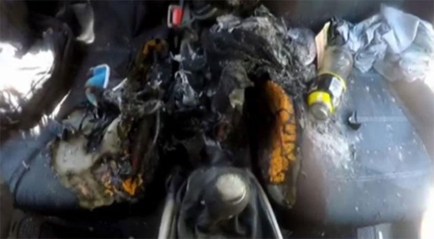 آتش گرفتن یک دستگاه آیفون 7 (تصویر 1)