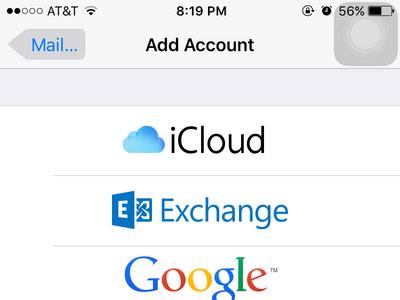 وارد شدن به iCloud در آیفون