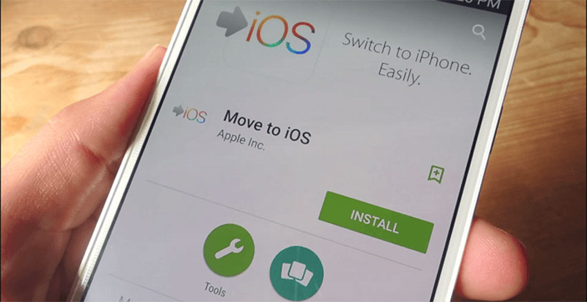 اپلیکیشن Move to iOS