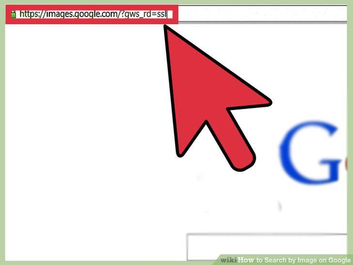 سایت گوگل را باز کنید و به قسمت تصاویر بروید