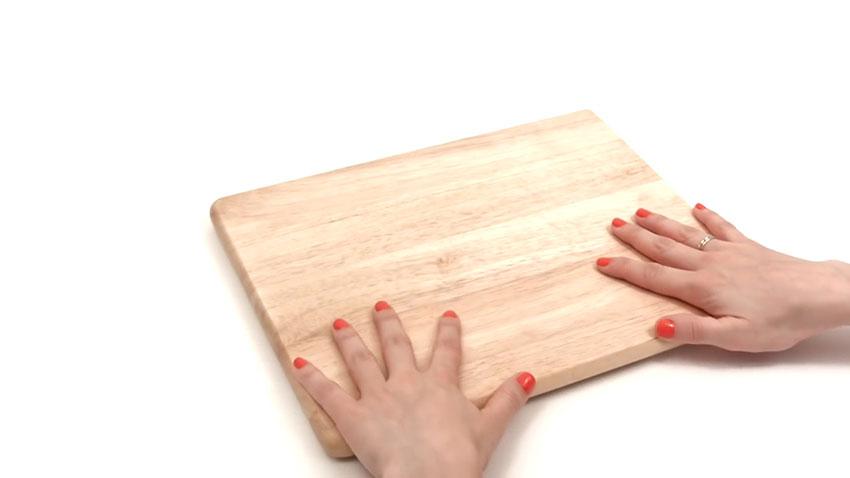 تخته آشپزی (تصویر 1)  خلاقیت کده؛ کاربردهای خلاقانه کشهای لاستیکی Cutting Board 01
