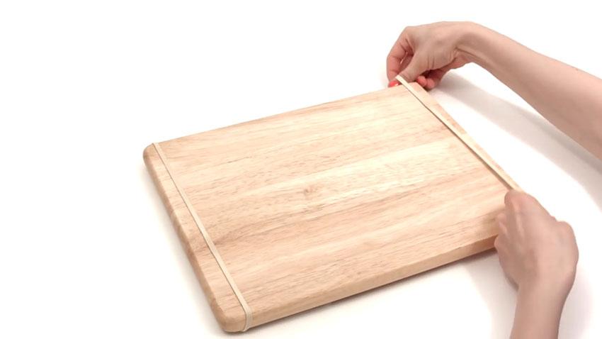 تخته آشپزی (تصویر 4)  خلاقیت کده؛ کاربردهای خلاقانه کشهای لاستیکی Cutting Board 04
