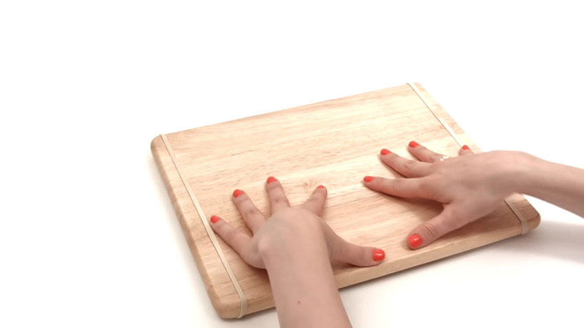 تخته آشپزی (تصویر 5)  خلاقیت کده؛ کاربردهای خلاقانه کشهای لاستیکی Cutting Board 05