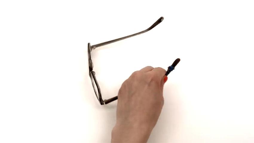 عینک (تصویر 2)  خلاقیت کده؛ کاربردهای خلاقانه کشهای لاستیکی Glasses 02