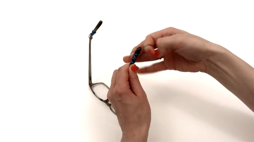 عینک (تصویر 3)  خلاقیت کده؛ کاربردهای خلاقانه کشهای لاستیکی Glasses 03