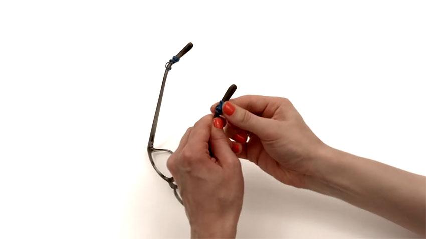 عینک (تصویر 4)  خلاقیت کده؛ کاربردهای خلاقانه کشهای لاستیکی Glasses 04